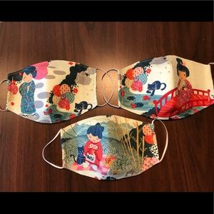 Accessories - High quality made to order masks with filter pouch